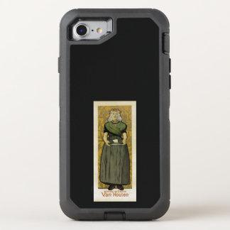 Kakao Skåpbil Houten OtterBox Defender iPhone 7 Skal