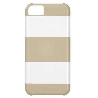 Kaki- beige iphone casegåva för ny Sand iPhone 5C Fodral