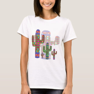 KAKTUS: Den naturliga livsmiljöen är öknen av T-shirt