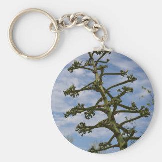 Kaktus från den Arizona samlingen Rund Nyckelring