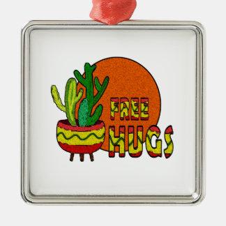 Kaktusen - frigör kramar julgransprydnad metall