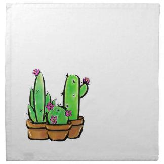 Kaktusglädje Tygservett