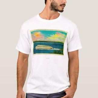 Kalakala färja, Puget ljud, olympiska berg Tröjor