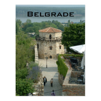 Kalamegdan fästning vykort
