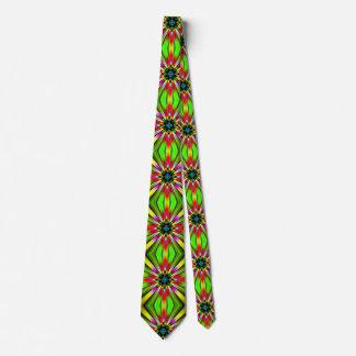 Kaleidoscope av färgdesignen slips