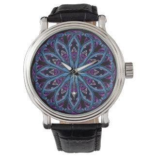 Kaleidoscope av Light det dagliga armbandsuret Armbandsur