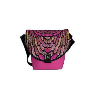 Kaleidoscope i den rosa mini- messenger bag (v.1)