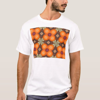 Kaleidoscope Oranges.png T-shirts