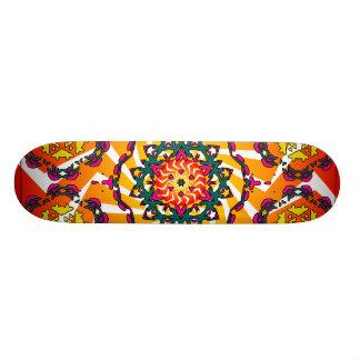 Kaleidoscope & radiell design: Beställnings- Skate Skate Board