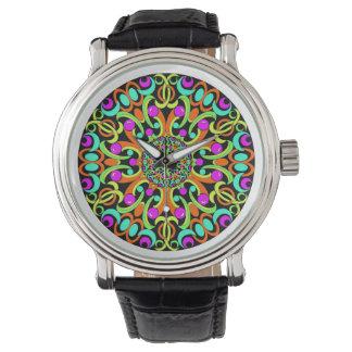 Kaleidoscopedesignarmbandsur Armbandsur