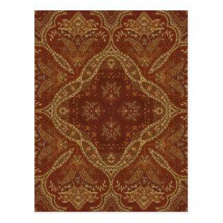 Kaleidoscopen Kreations rostar Tapestry 1 Vykort