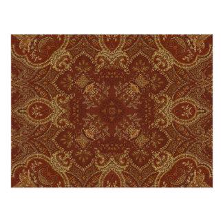 Kaleidoscopen Kreations rostar Tapestry 2 Vykort
