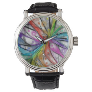 Kaleidoscopeslända Armbandsur