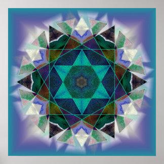 Kaleidoscopic anka poster