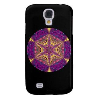 Kaleidoscopic Mandala Starburst Design.2 Galaxy S4 Fodral