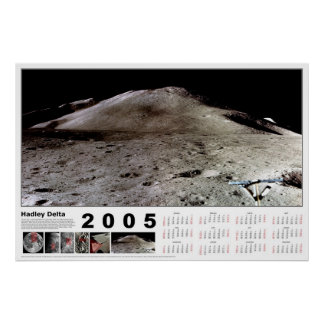 Kalender 2005: Hadley delta Posters