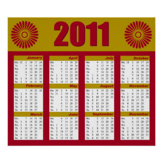 Kalender 2011 print
