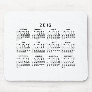 Kalender 2012 musmattor
