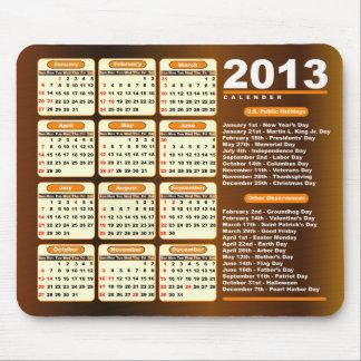 kalender 2013 musmattor