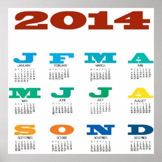 kalender 2014 affisch