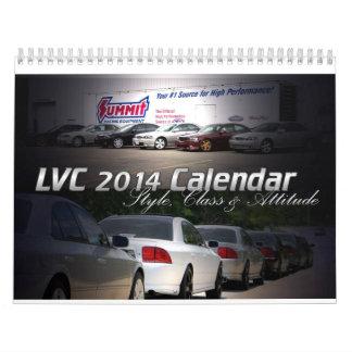 Kalender 2014 för LVC Lincoln LS