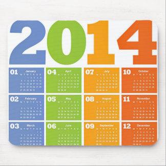 Kalender 2014 musmattor