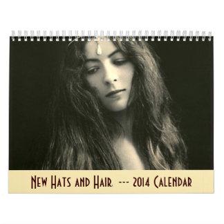 Kalender 2014 - nytt hattar och hår