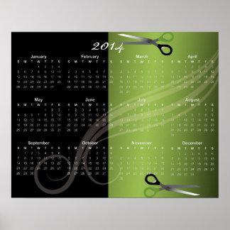 kalender 2014 poster