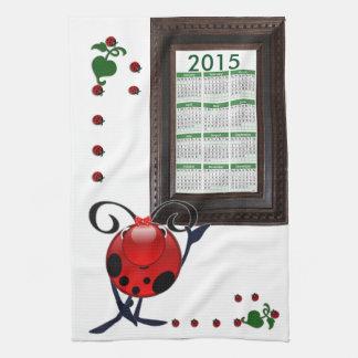 kalender 2015 räcker handduknyckelpiga kökshandduk