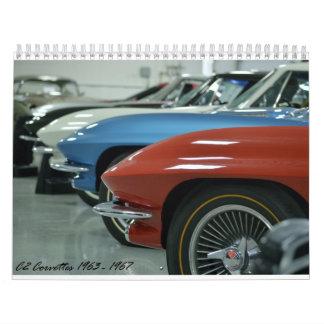 Kalender 2016 för C2 Corvette