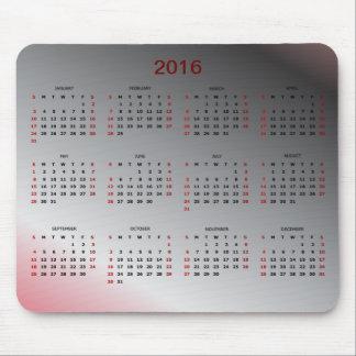 Kalender 2016 mus mattor