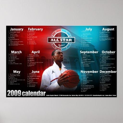kalender affischer