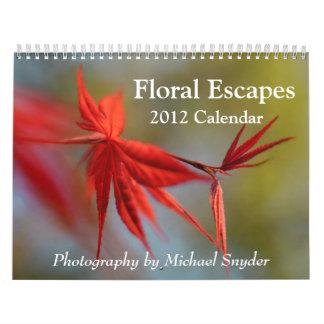 Kalender för 2012 blomma