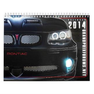 Kalender för 2014 GPF