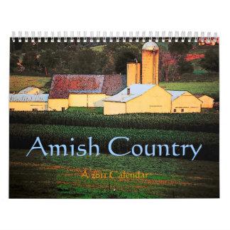 Kalender för Amish land 2011