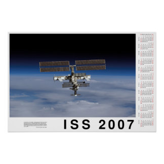 Kalender för ISS 2007 Posters