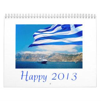 Kalender för lycklig 2013
