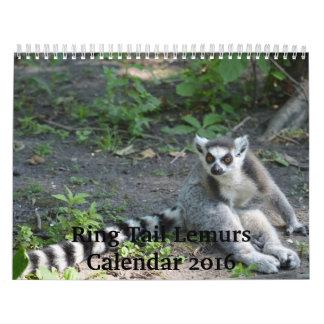 Kalender för ringsvanLemurs 2016