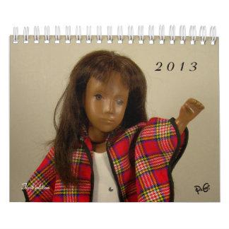 Kalender för Sasha dockor 2013