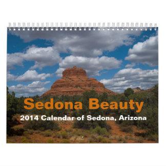 Kalender för Sedona skönhet 2014