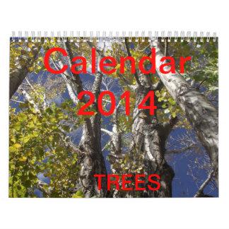 Kalender för träd 2014