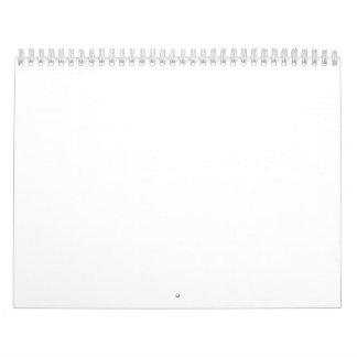 """Kalender för två sida som är standard, 11"""" x17 """","""