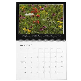 Kalender för vildblommar 2017 av Thomas Minutolo