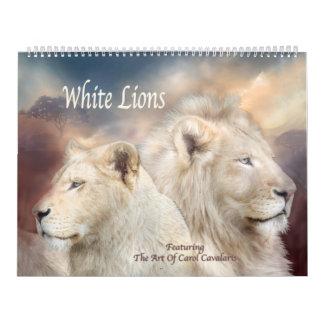 Kalender för vitlejonkonst
