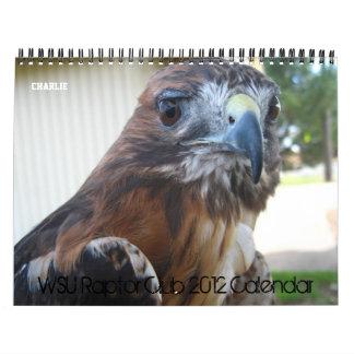 Kalender för WSU-rovfågelklubb 2012