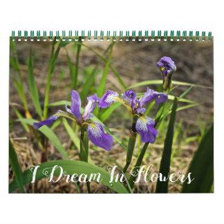 Kalender - jag drömm i blommor