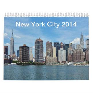 Kalender New York City 2014