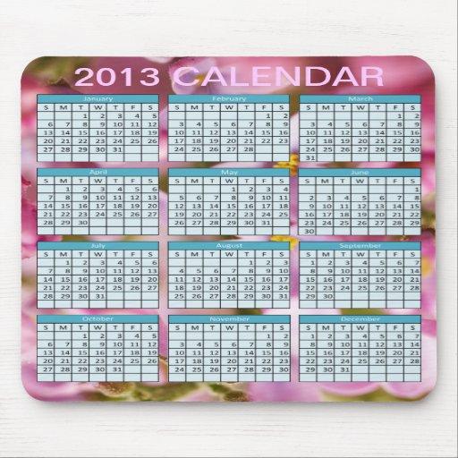 Kalender på en Mousepad Mus Matta