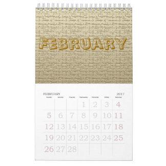 Kalender - strukturer