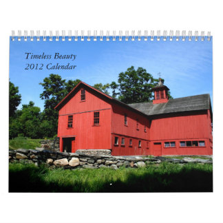 Kalender tidlös skönhet 2012